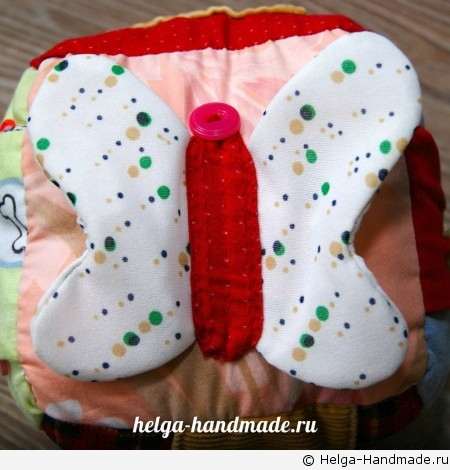 Бабочка с шуршащими крыльями