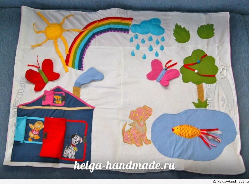 Детские коврики своими руками аппликации