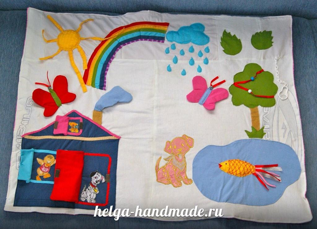 Как сшить детские коврики своими руками
