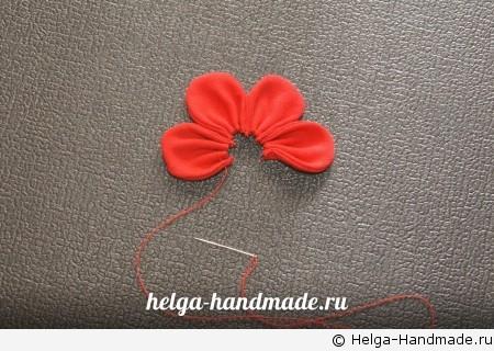 Шьем объемный цветок своими руками