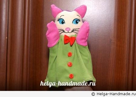 Как сшить голову для куклы на руку