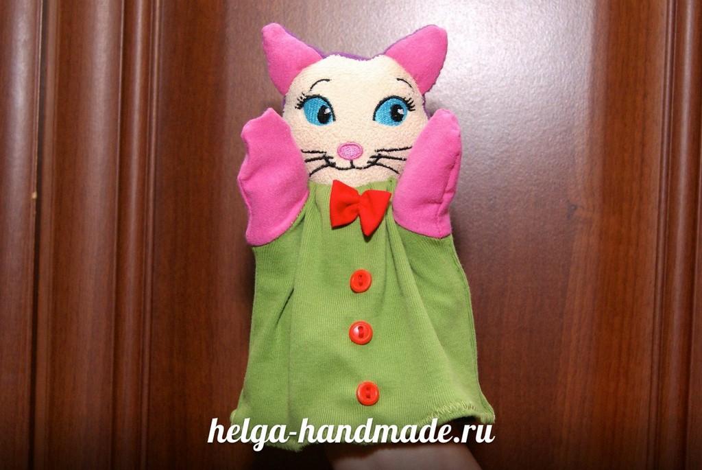 Сшить куклу на руку