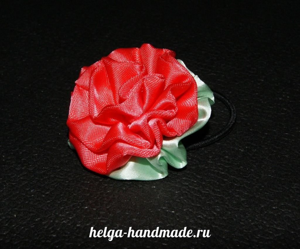 Цветок для шапочки своими руками