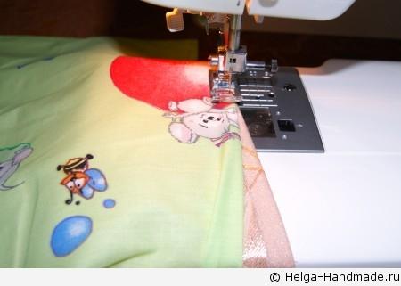 Как сшить карман на детскую кроватку своими руками