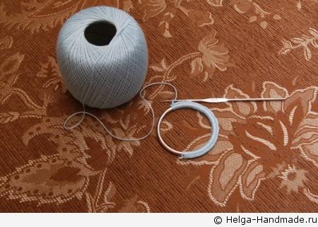 Вешалка для шарфов своими руками