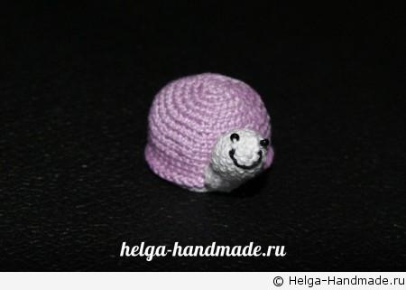 Вяжем черепашку своими руками