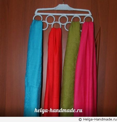 Вешалка для платков, шарфов и палантинов