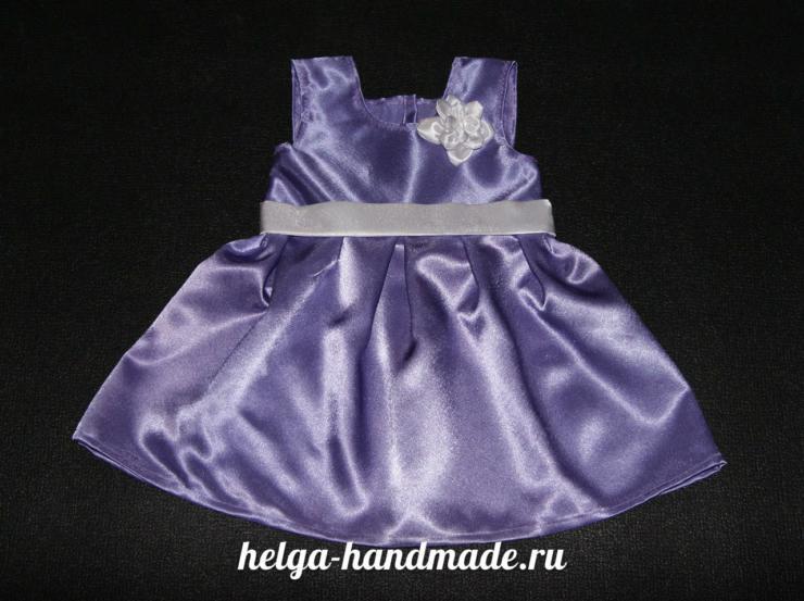 Шьем платье для девочек своими руками