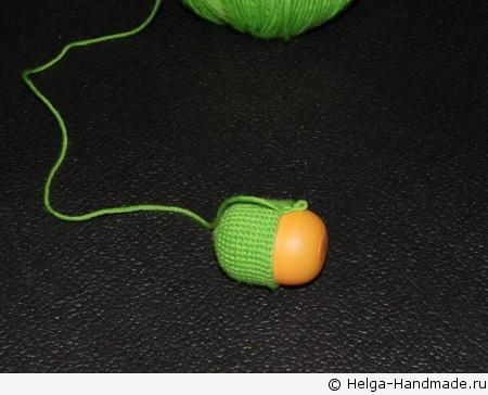 Как связать брелок-игрушку в автомобиль своими руками