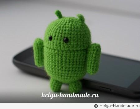 Вязаный робот Android