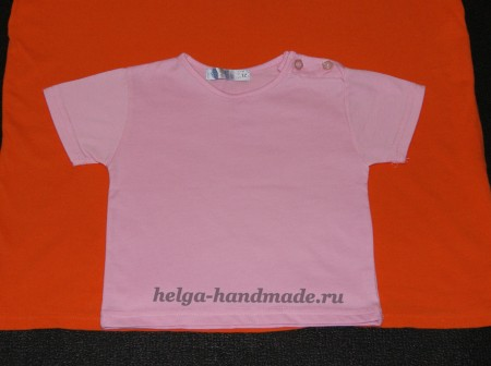 Шьем детские футболки своими руками