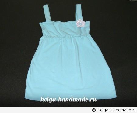 Домашнее платье из футболки