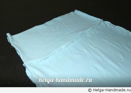 Шьем домашнее платье из футболки своими руками