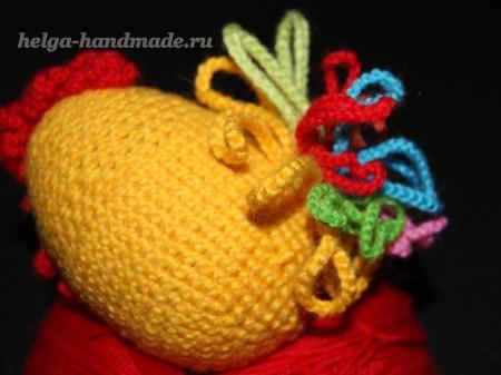 Вязканый Петушок (курица) своими руками