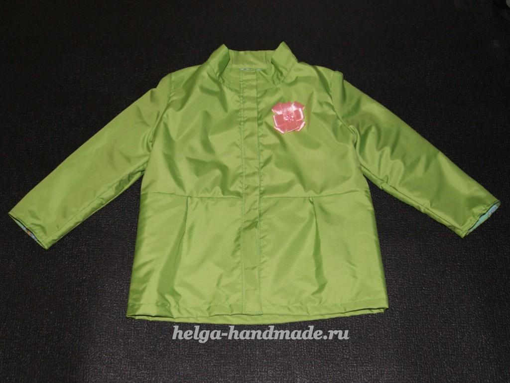 Как сшить куртку ветровку для девочки своими руками