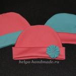Вязаная весенне-летняя шапочка для малышки своими руками