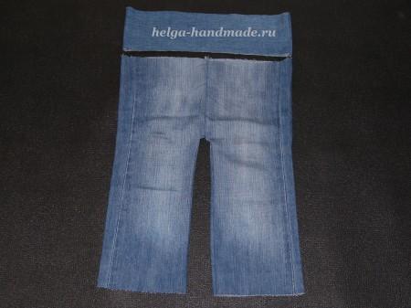 Шьем детские джинсы своими руками