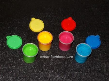 Пальчиковые краски (рецепт) своими руками