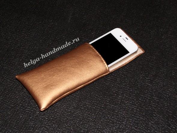Примеряем сумочку на телефон