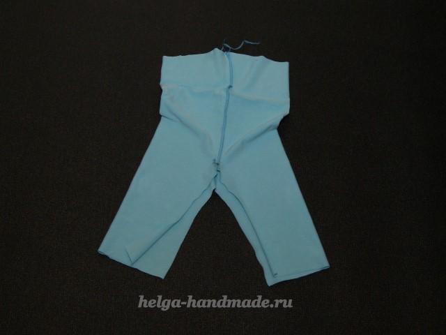 Шьем детские коротенькие штанишки - бриджи своими руками, мастер-класс
