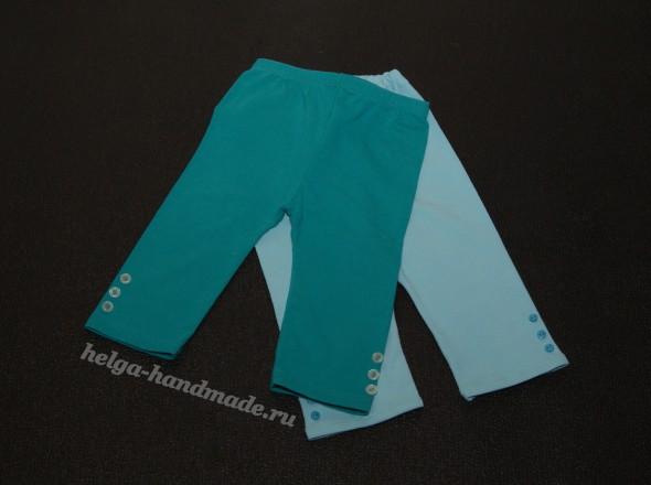 Летние коротенькие штанишки (бриджи) для девочек