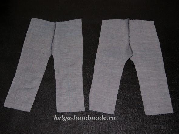 Детские джинсы (выкройка) своими руками
