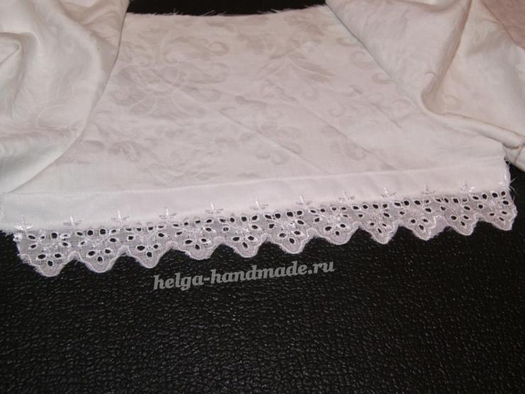 Крестильное платье для девочки своими руками