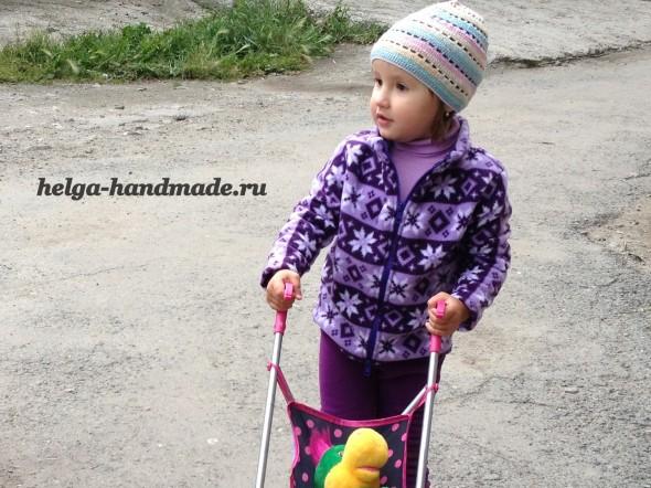 Теплый костюм из флиса для детей своими руками