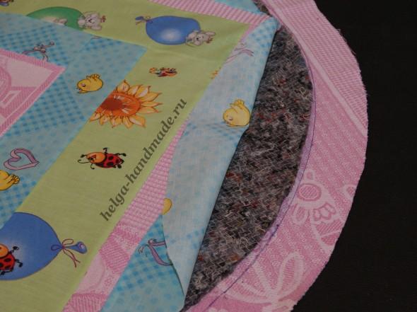 Шьем лоскутное одеялко