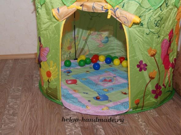 Детское лоскутное одеялко/коврик (для начинающих) своими руками