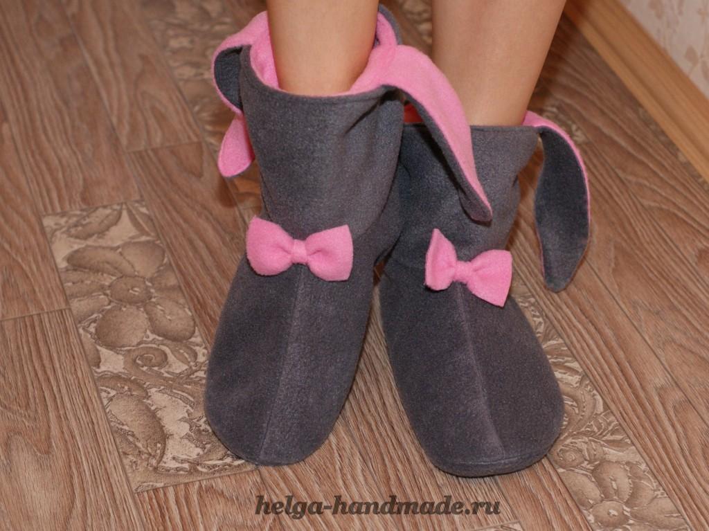 Домашние носки своими руками 45