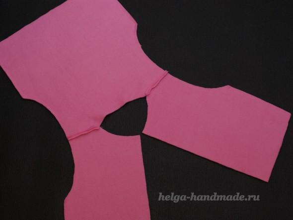 Детское пальтишко из флиса для девочки своими руками