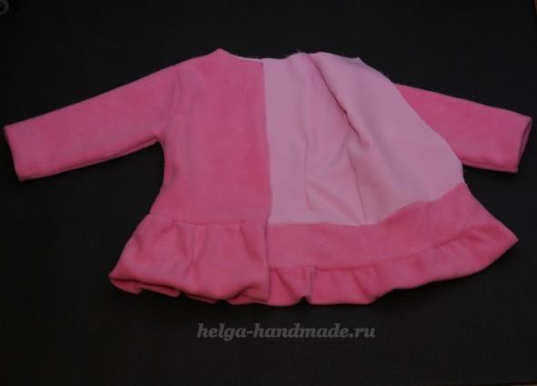 Шьем пальтишко для девочки