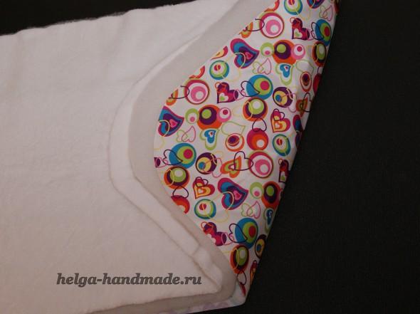 Слои ткани для конверта