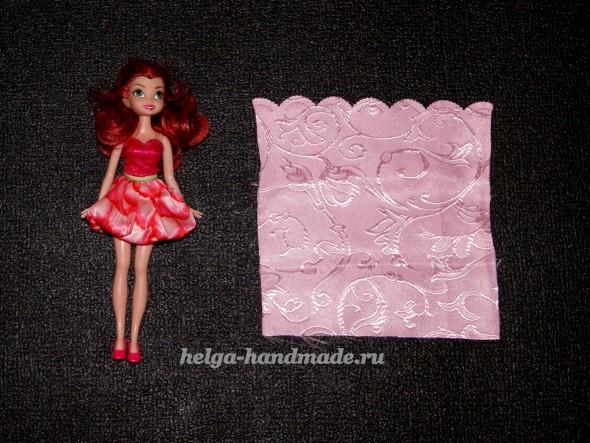 Шьем одежду для куклы Барби