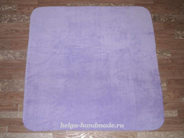 Шьем плед-конверт для новорожденного
