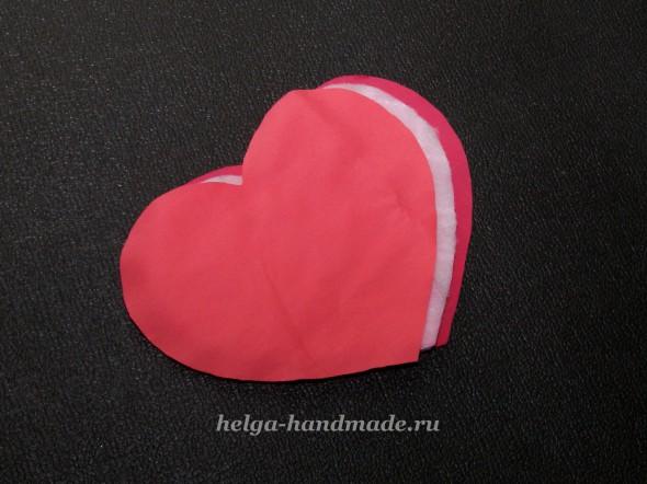 Шьем прихватку Сердце