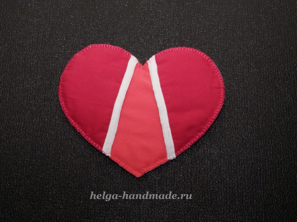 Шьем прихватку на кухню Сердце