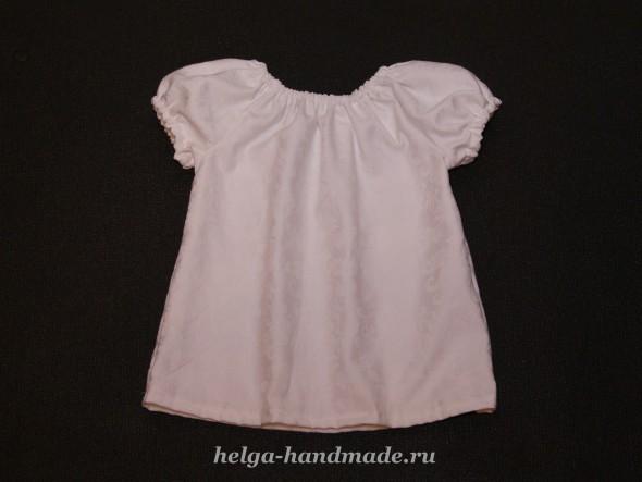 Сшить для себя атласную блузку фото 793