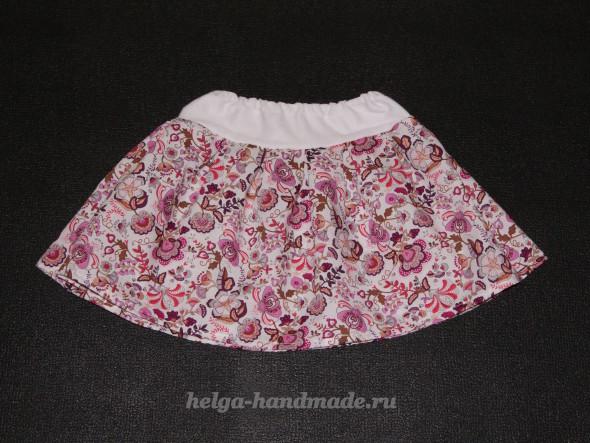 Шьем юбку татьянка на девочку мастер класс с фото #7