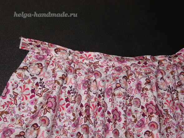 Летняя юбка из хлопка (выкройка) своими руками