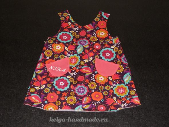 Детская одежда. Шьем сарафан для девочки