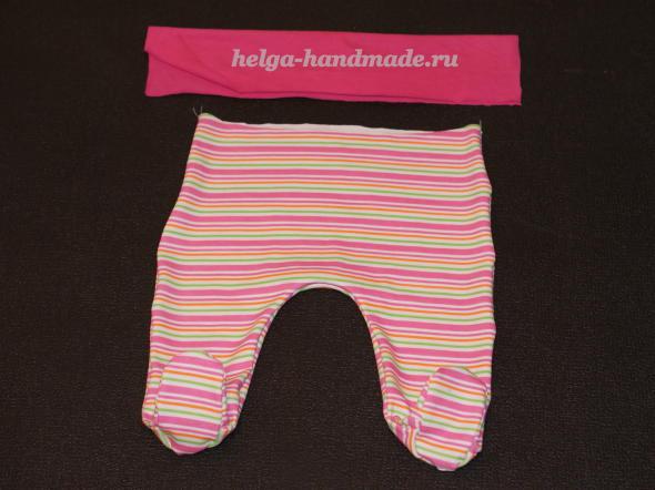 Одежда для малышей до года (выкройки) своими руками
