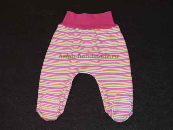 Детская одежда. Ползунки для малышей