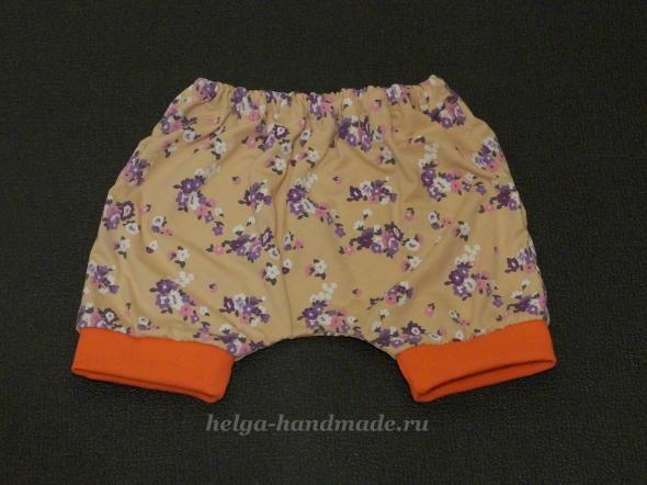 Детская одежда. Шортики для малышей.