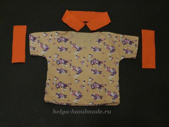 Детская одежда. Шьем футболку малышам