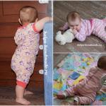 Развивающая доска с замочками для малышей своими руками