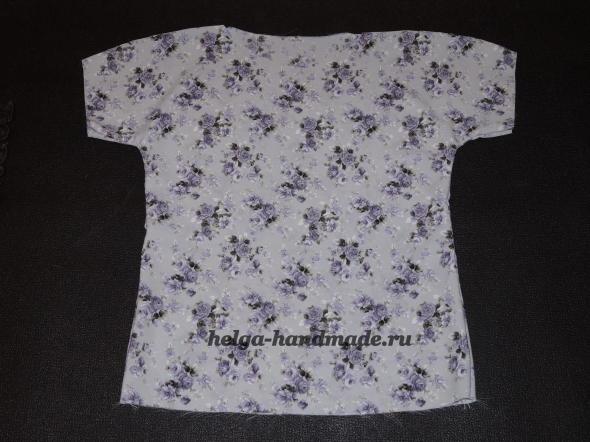 Летняя базовая блузка своими руками