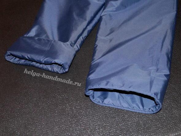 Утепленные штаны на осень/весну своими руками