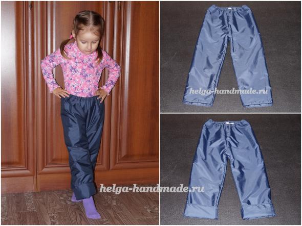 Детская одежда. Штанишки для малышей на осень/весну